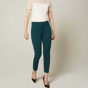 RW&CO peacock slim leg ankle suiting pant